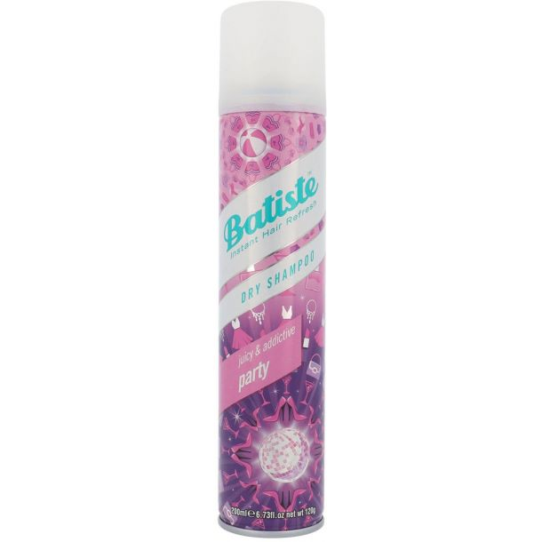 Batiste Party Dry Shampoo 200ml (All Hair Types)