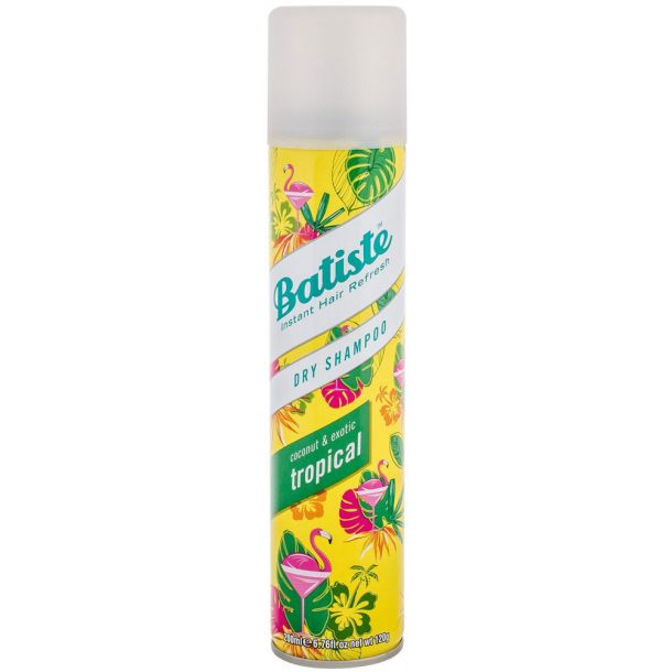 Batiste Tropical Dry Shampoo 200ml (All Hair Types)