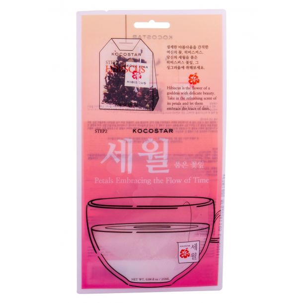 Kocostar Face Mask Hibiscus Face Mask 25ml (For All Ages)