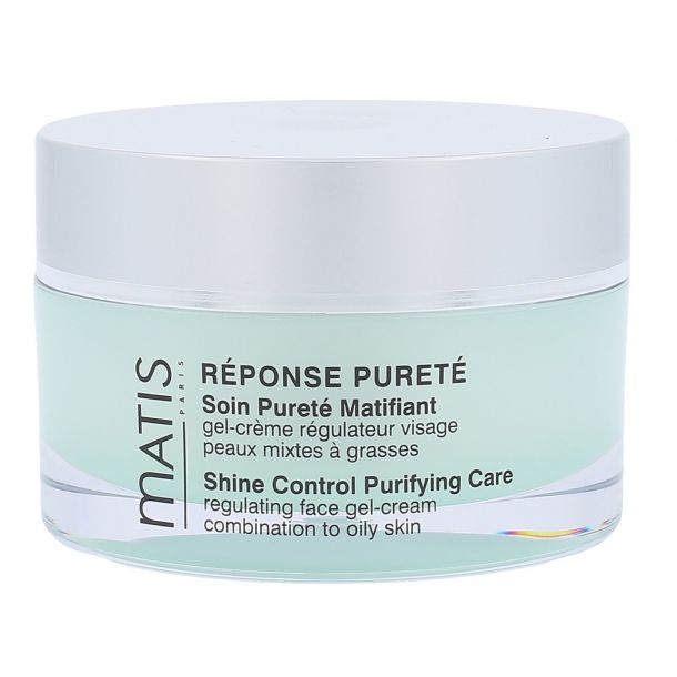 Matis Réponse Pureté Shine Control Purifying Care Day Cream 50ml (For All Ages)