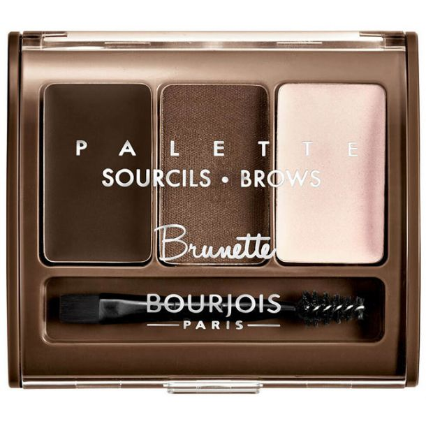Bourjois Paris Brow Palette Set and Pallette For Eyebrows Brunette 4,5gr