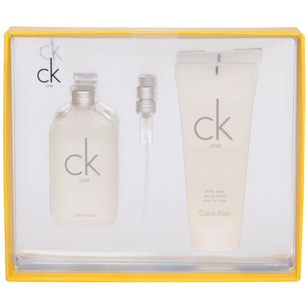 Calvin Klein CK One Eau de Toilette 50ml Combo: Edt 50ml + 100ml Shower Gel
