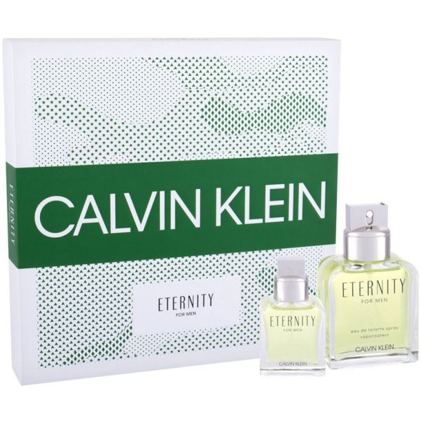 Calvin Klein Eternity For Men Eau de Toilette 100ml Combo: Edt 100ml + 30ml Edt