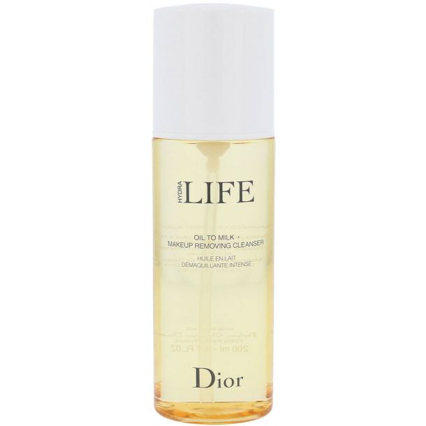 Christian Dior Hydra Life Oil To Milk Cleansing Oil 200ml Tester