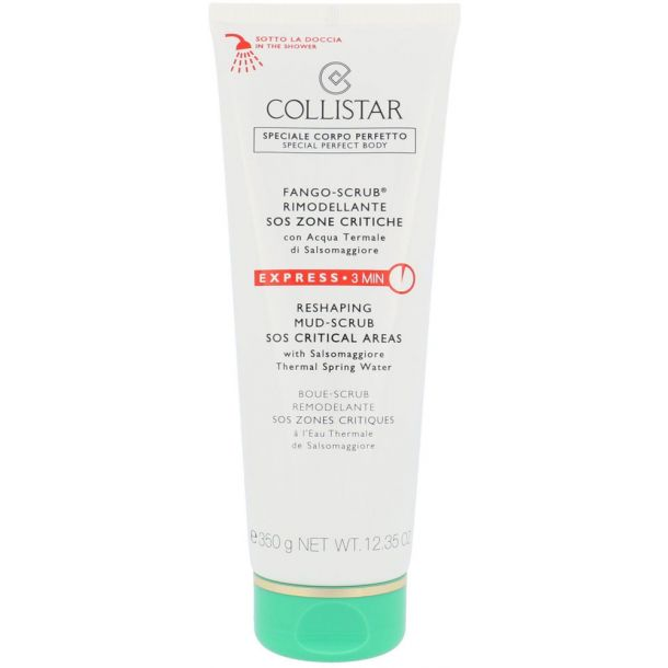 Collistar Special Perfect Body Re-Shaping Mud-Scrub SOS Critical Areas Body Peeling 350gr