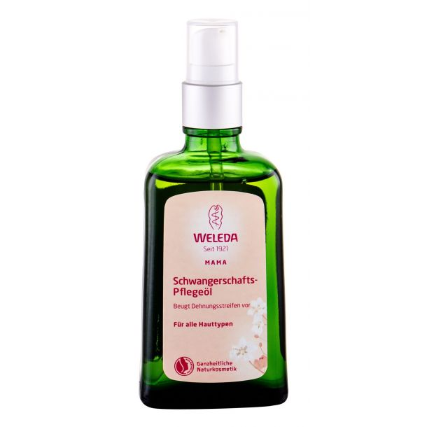 Weleda Mother Stretch Mark Massage Oil For Massage 100ml (Bio Natural Product)