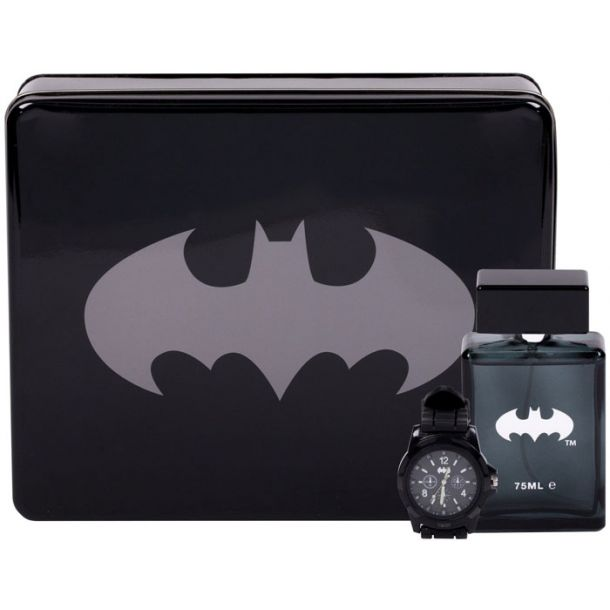 Dc Comics Batman Eau de Toilette 75ml Combo: Edt 75 Ml + Watches