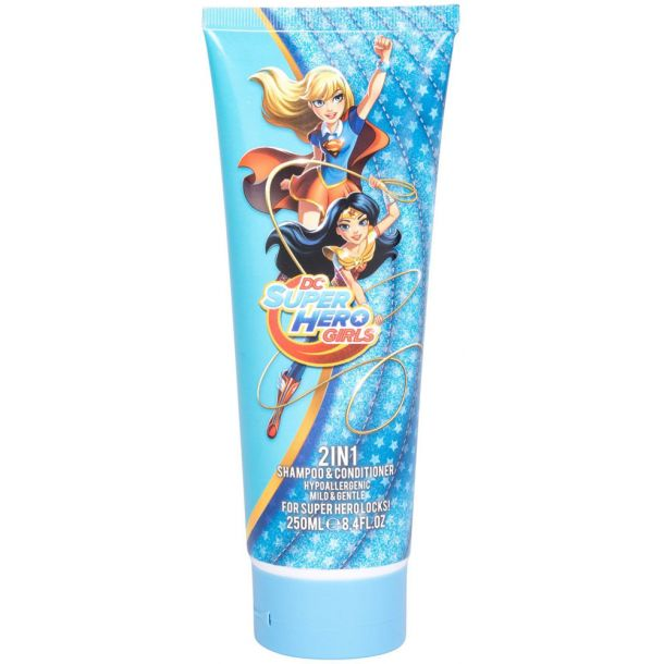 Dc Comics Super Hero Girls 2in1 Shampoo 250ml (All Hair Types)