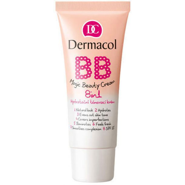 Dermacol BB Magic Beauty Cream SPF15 BB Cream Sand 30ml