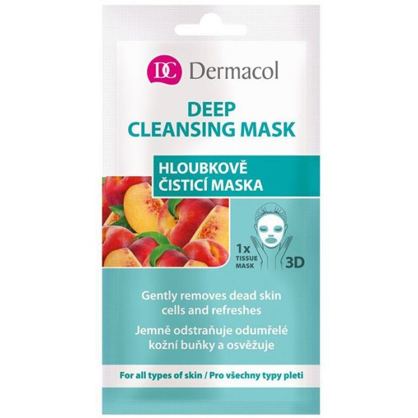 Dermacol Deep Cleansing Mask Face Mask 15ml (For All Ages)