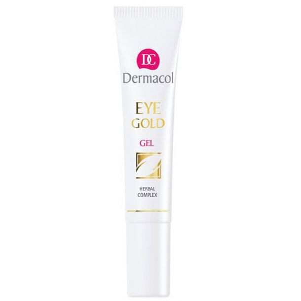 Dermacol Eye Gold Gel 15ml (For All Ages - Puffiness - Dark Circles)