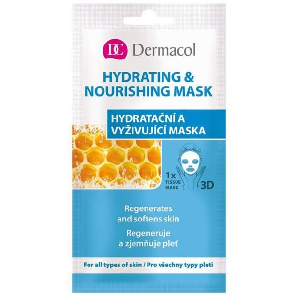 Dermacol Hydrating & Nourishing Mask Face Mask 15ml (For All Ages)