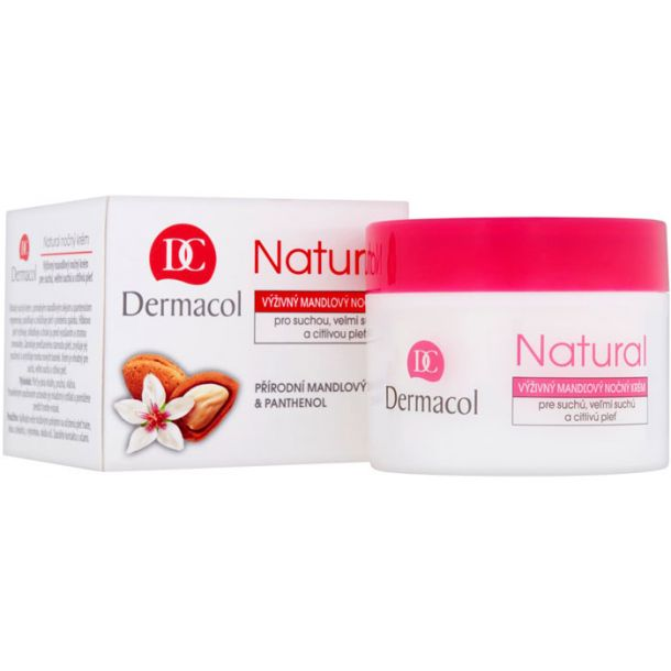 Dermacol Natural Almond Night Skin Cream 50ml (For All Ages)