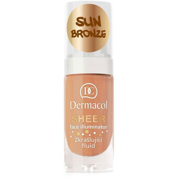 Dermacol Sheer Face Illuminator Makeup Primer sun bronze 15ml