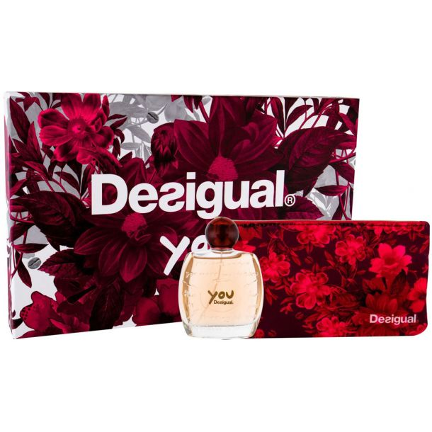 Desigual You Eau de Toilette 100ml Combo: Edt 100 Ml + Cosmetic Bag