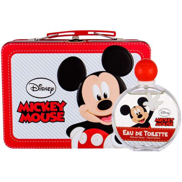 Disney Mickey Mouse Eau de Toilette 100ml Combo: Edt 100 Ml + Case