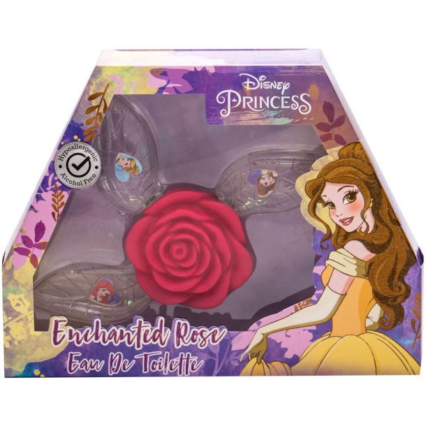 Disney Princess Princess Eau de Toilette 3x15ml Combo: Edt Ariel 15 Ml + Edt Belle 15 Ml + Edt Cinderella 15 Ml