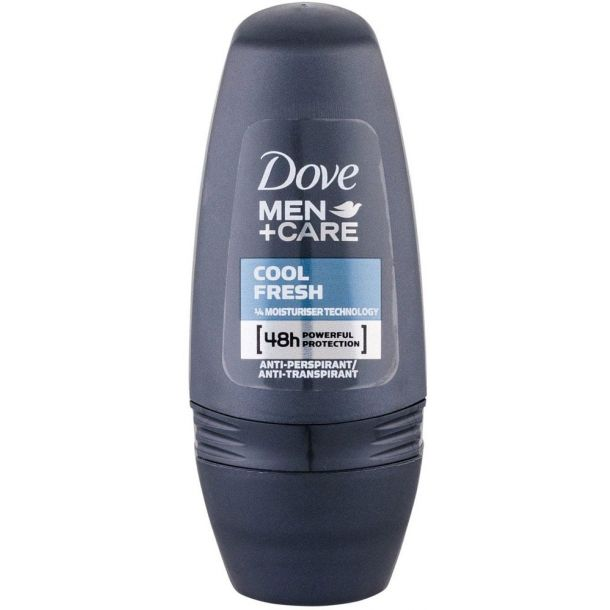 Dove Men + Care Cool Fresh 48h Antiperspirant 50ml (Roll-On - Alcohol Free)