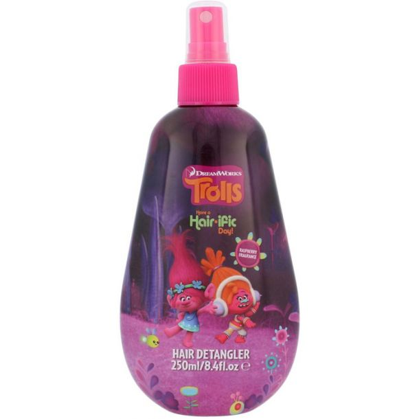 Dreamworks Trolls Hair Detangler Conditioner 250ml (All Hair Types)