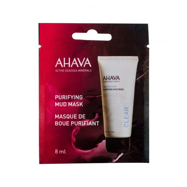 Ahava Clear Time To Clear Face Mask 8ml (For All Ages)
