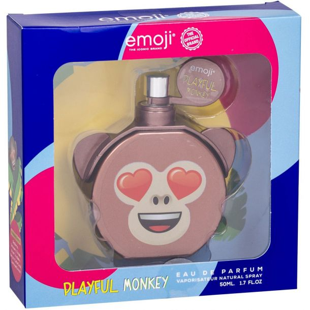 Emoji Playful Monkey Eau de Parfum 50ml