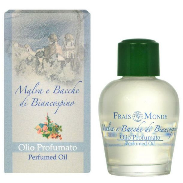 Frais Monde Mallow And Hawthorn Berries Perfumed Oil 12ml