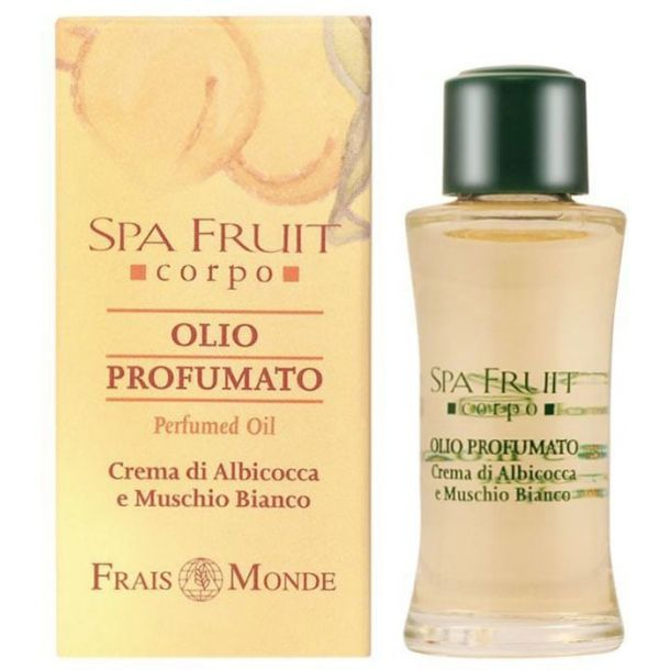 Frais Monde Spa Fruit Apricot And White Musk Perfumed Oil 10ml