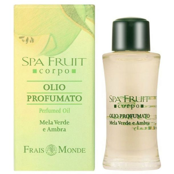 Frais Monde Spa Fruit Green Apple And Amber Perfumed Oil 10ml