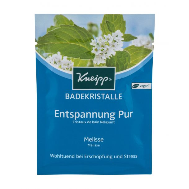 Kneipp Mineral Bath Salt Pure Relaxation Lemon Balm Bath Salt 60gr