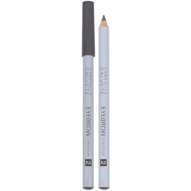 Gabriella Salvete Eyebrow Contour Eyebrow Pencil 02 Light Brown 0,28gr