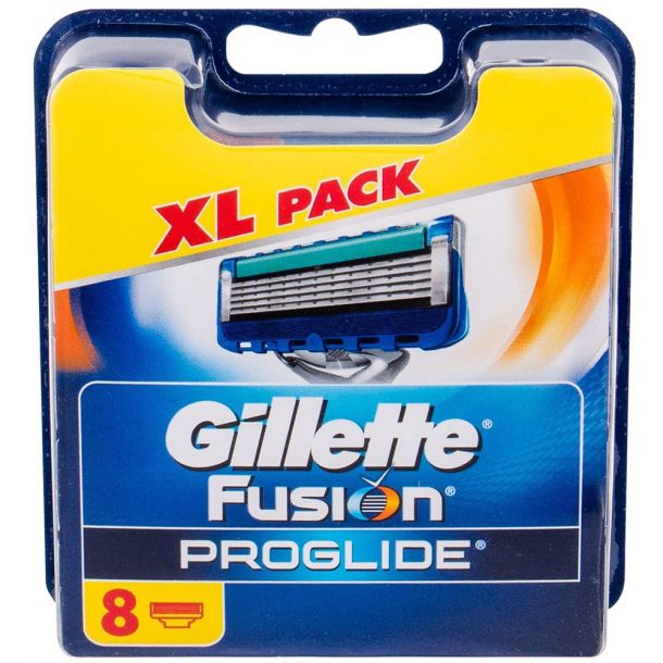 Gillette Fusion Proglide Replacement blade 8pc