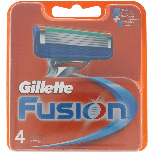 Gillette Fusion Replacement blade 4pc