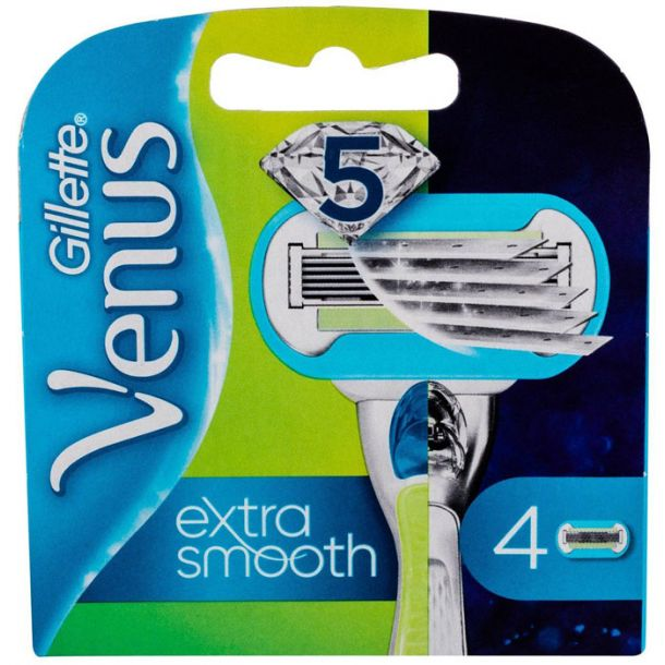 Gillette Venus Embrace Replacement blade 4pc
