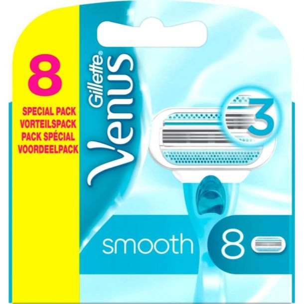 Gillette Venus Smooth Replacement blade 8pc