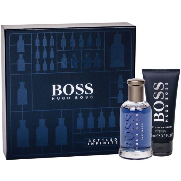 Hugo Boss Boss Bottled Infinite Eau de Parfum 100ml Combo: Edp 100 Ml + Shower Gel 100 Ml