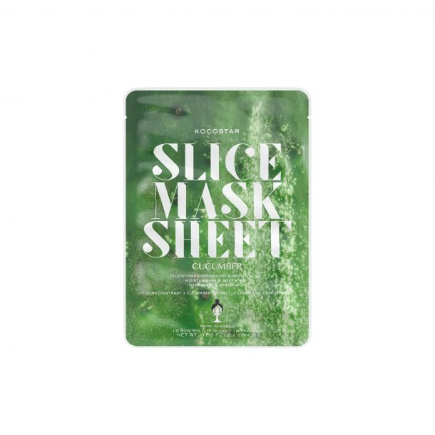 Kocostar Slice Mask Cucumber Face Mask 20ml (For All Ages)