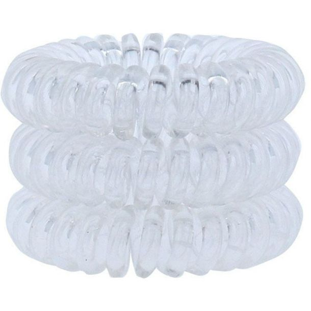 Invisibobble Power Hair Ring Hair Ring Crystal Clear 3pc