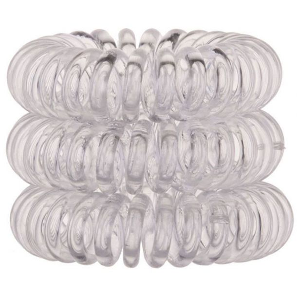Invisibobble The Traceless Hair Ring Crystal Clear 3pcs