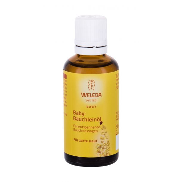 Weleda Baby Tummy Oil For Massage 50ml (Bio Natural Product)