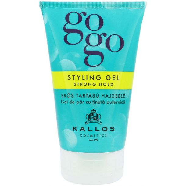 Kallos Cosmetics Gogo Hair Gel 125ml (Strong Fixation)