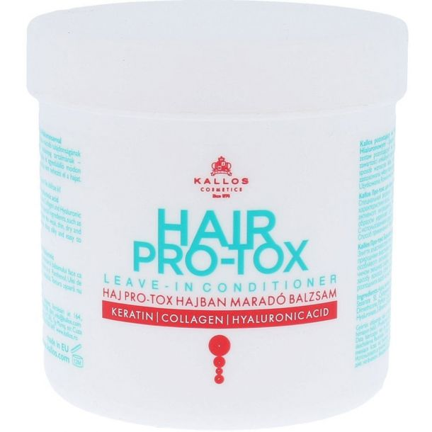 Kallos Cosmetics Hair Pro-Tox Leave-In Conditioner Conditioner 250ml (Damaged Hair - Dry Hair)