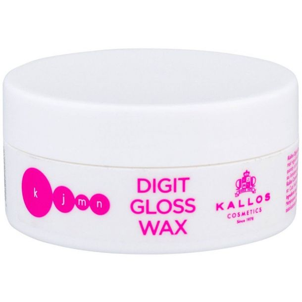 Kallos Cosmetics KJMN Digit Gloss Wax Hair Wax 100ml (Light Fixation)