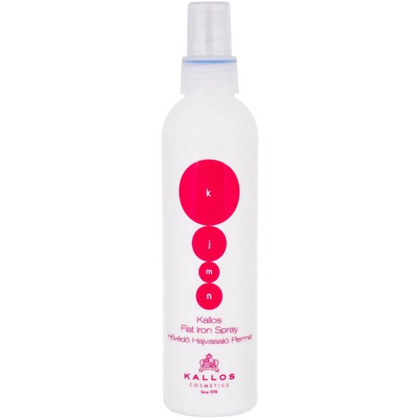 Kallos Cosmetics KJMN Flat Iron Spray For Heat Hairstyling 200ml