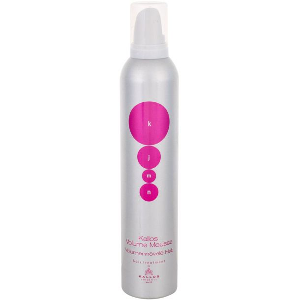 Kallos Cosmetics KJMN Silk Protein Hair Mousse 300ml (Medium Fixation)