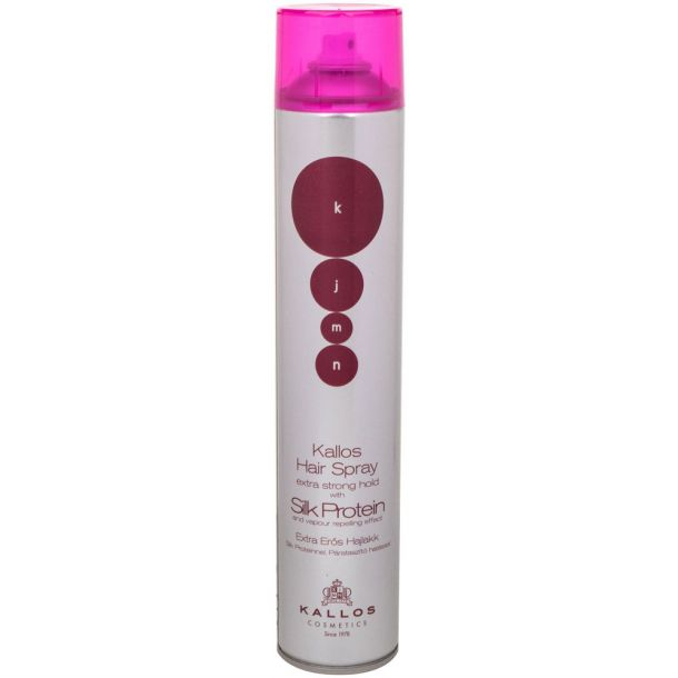 Kallos Cosmetics KJMN Silk Protein Hair Spray 750ml (Strong Fixation)