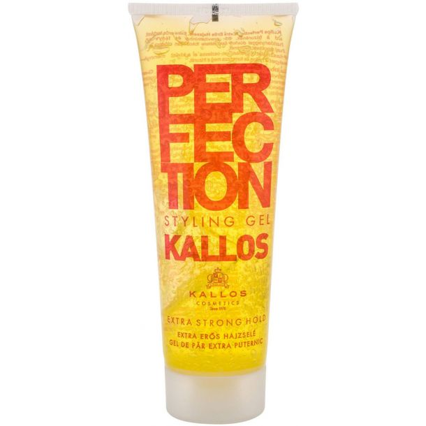 Kallos Cosmetics Perfection Extra Strong Hair Gel 250ml (Strong Fixation)