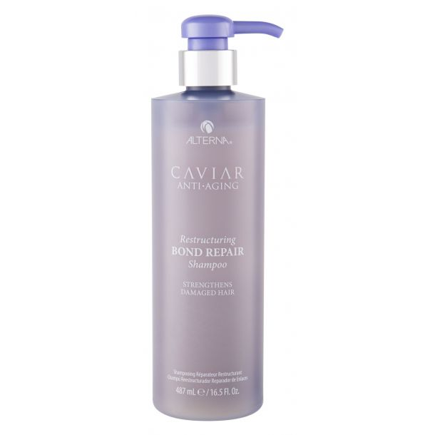 Alterna Caviar Anti-Aging Restructuring Bond Repair Shampoo 487ml (Damaged Hair)
