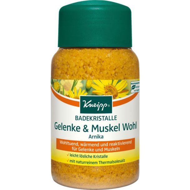 Kneipp Mineral Bath Salt Joint & Muscle Arnika Bath Salt 500gr