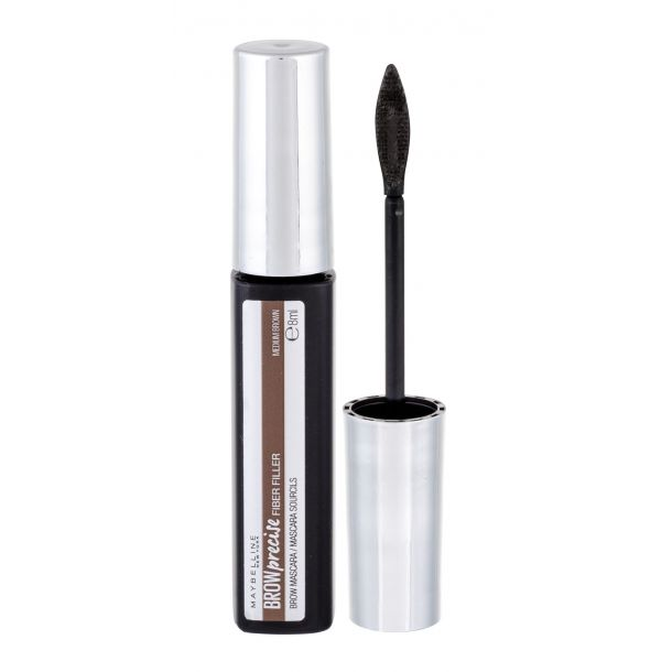 Maybelline Brow Precise Fiber Filler Eyebrow Mascara Medium Brown 8ml