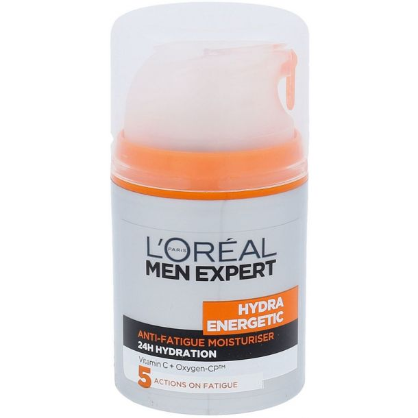 L´oréal Paris Men Expert Hydra Energetic Daily Moisturising Lotion Day Cream 50ml (For All Ages)